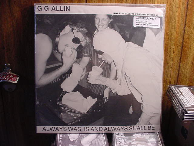 GG Allin 3 LP set