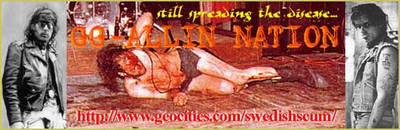 swedish scum's super gg allin site