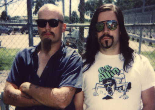 GG ALLIN and Skeeter in Jackson State Prison 1992