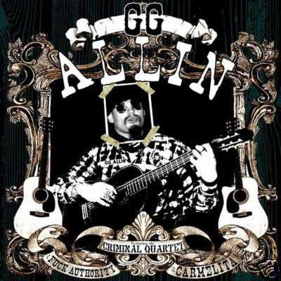 DISCO LEPERS / GG ALLIN split 7� e.p.