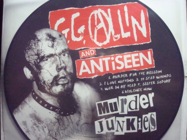 GG ALLIN & ANTISEEN Murder Junkies LP