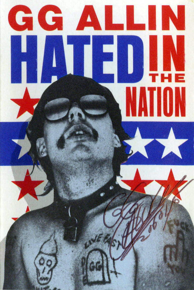 Hated In The Nation STICKER