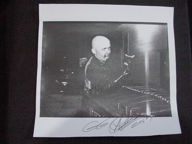 vintage GG Allin autographed Computer Printer Photo!