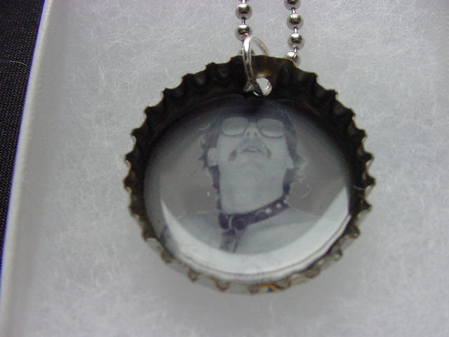 GG Allin Bottle Cap Necklace #1