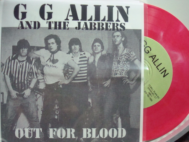 GG Allin & the Jabbers Out For Blood