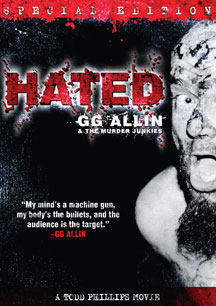 GG Allin - HATED Special Edition DVD