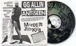 GG Allin & Antiseen / GG Allin & the Murder Junkies SPLIT CD!!