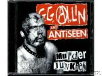 GG ALLIN & ANTISEEN Murder Junkies CD