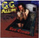 GG ALLIN Res-Erected LP
