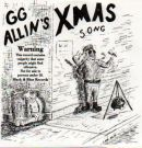 GG Allin's X-MAS Song