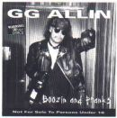 GG Allin & the Texas Nazi's Boozin And Pranks Live album