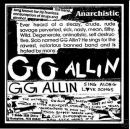GG ALLIN & the Texas Nazis SING ALONG LOVE SONGS 1985 CD.