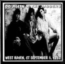 GG ALLIN & THE JABBERS at WEST HAVEN DUMP, WEST HAVEN, CT SEPTEMBER 3, 1982 CD.